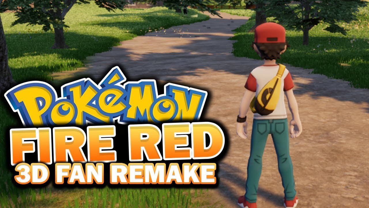 Pok mon origin fire red 3d remake upcoming 3d fan game - Pokemon 3d download ...
