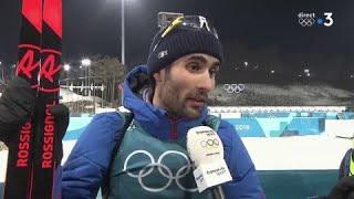 JO 2018 : Biathlon - Mass start hommes / Martin Fourcade :