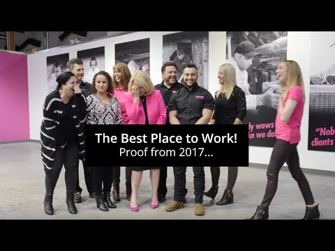 Best place to work! 2017 at Anderson Plumbing...