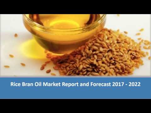 Rice Bran Oil Industry Project Report 2017 - 2022