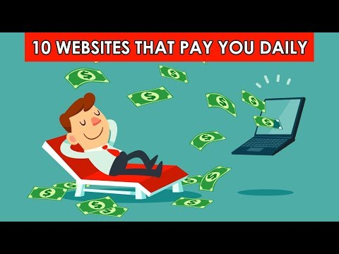10 Websites That Pay You Daily To Work From Home (2019)