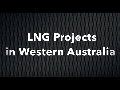 LNG Mega Projects in Western Australia