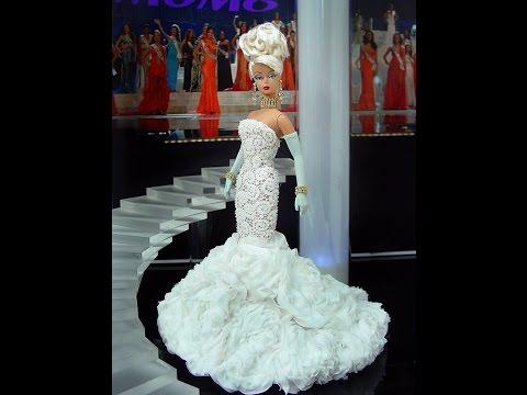 видео: Барби в роскошных нарядах.  barbie in magnificent dresses.