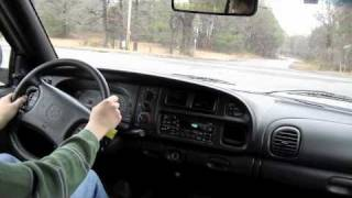Test Drive 1999 Dodge Ram 2500 Cummins Diesel (Start Up, Exhaust, Tour)