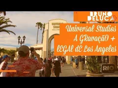Universal Studios - A gravação + legal de Los Angeles