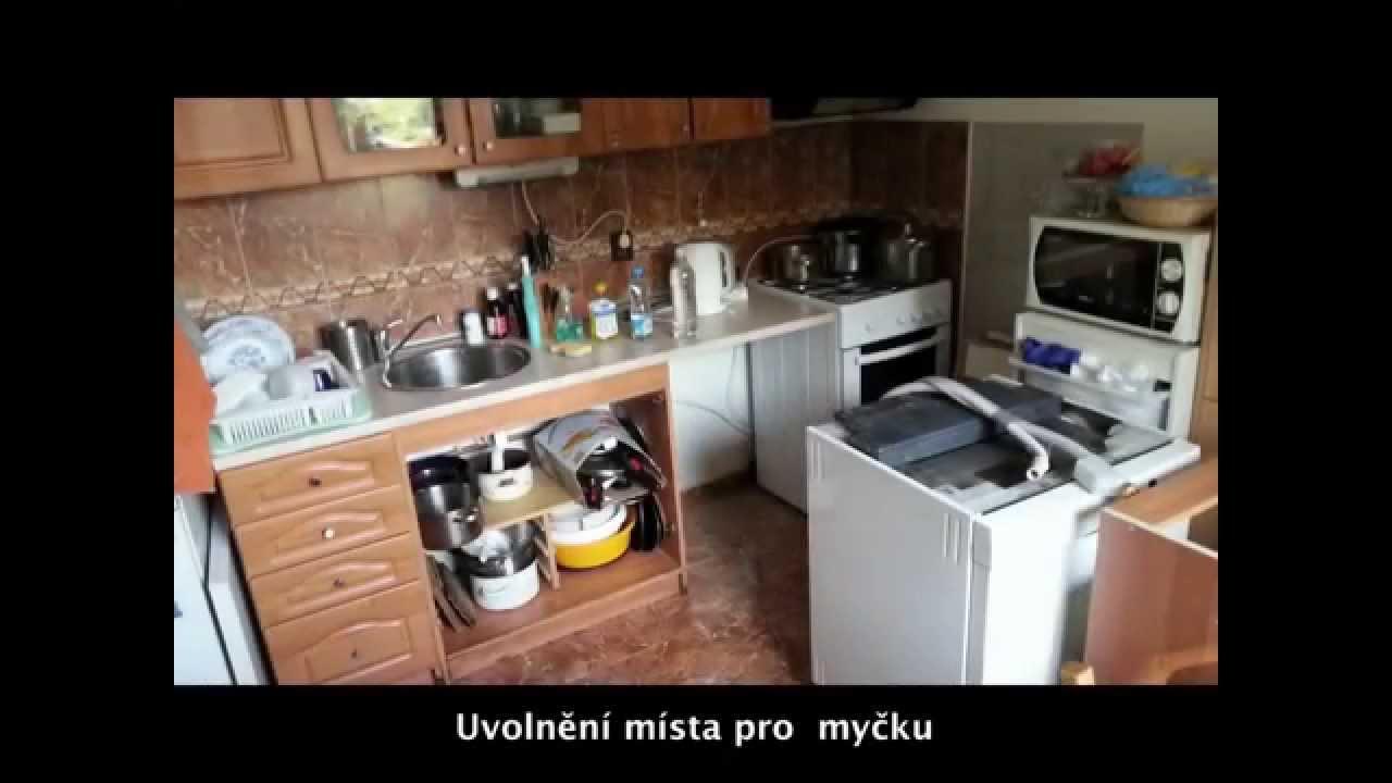 Instalace myčky