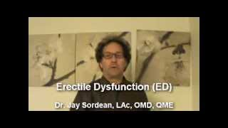 Male Menopause & Erectile Dysfunction: Causes and Cures: Berkeley Acupuncture, Jay Sordean