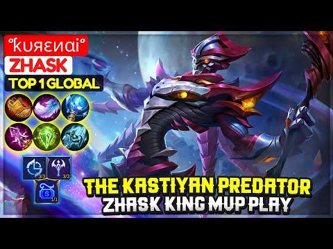 The Kastiyan Predator, Zhask King MVP Play [ Top 1 Global Zhask ] °ƙυяεиαᎥ° - Mobile Legends