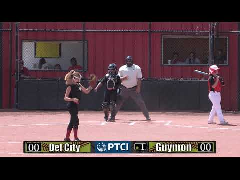 PTCI Softball DelCity vs Guymon 8-26-17