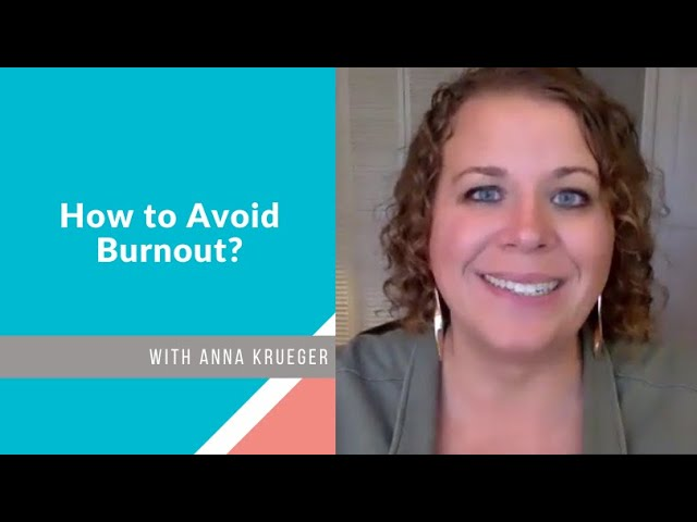 How to Avoid Burnout?