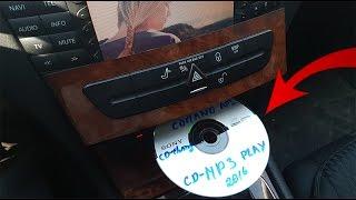 Как заставить штатную магнитолу читать MP3 диски / Запись MP3 для CD Чейнджера Японского команда