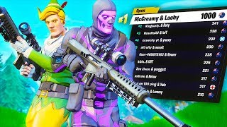 the worlds best fortnite duo...