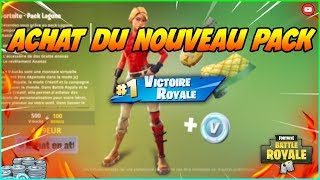 ACHAT OF NEW PACK A 5 EUROS ON FORTNITE FUN CLIP!