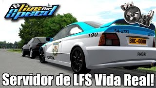 Servidor de Vida Real no Live for Speed