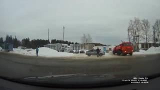 Аварийная сиутация по дороге в Кирово-Чепецк