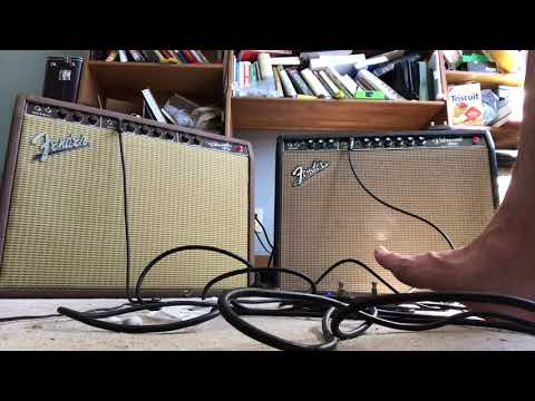 Fender 1963 and 1964 Vibroverb vs. Compared Vintage Original Brownface blackface