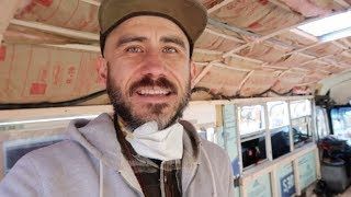 Insulating a Skoolie Bus Conversion