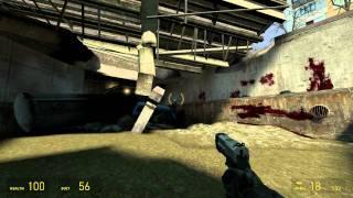 Half-Life 2 Walkthrough: Chapter 3 - Route Kanal {Part 1} [Hard Mode] (1080p)
