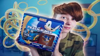 SONIC PEACH RINGS GFUEL REVIEW & TASTE TEST 🍑