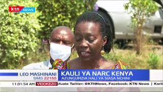 Kiongozi wa NARC Kenya Martha Karua azungumzia hali ya siasa nchini