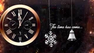 New Year Clock Countdown 2020