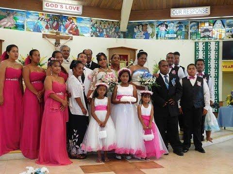 (Pohnpei) Wedding- Anthoney Hadley & Meriu Mauricio/ Sunam Seong & Meroleen Mauricio