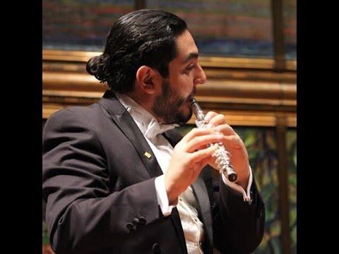6° grado ARTES.  19-23 de abril.   La flauta transversal con Ernesto Diez de Sollano