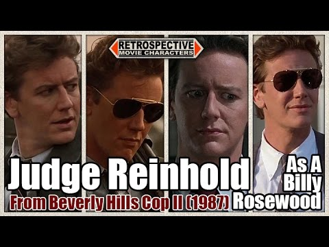 Judge Reinhold As A Billy Rosewood From Beverly Hills Cop Ii 1987 Youtube