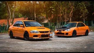 Mitsubishi Lancer Evolution VS Subaru Impreza WRX STI