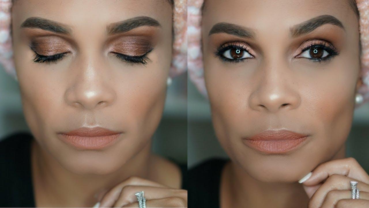 Smokey Eye Makeup Look Perfect For Your Wedding Day Youtube