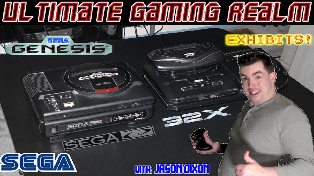 Sega Genesis Models 1&2 with Add ons - UGR: Exhibits