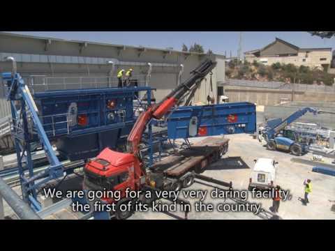 MRF Plant In Jerusalem - Greennet Recycling \u0026 Waste Treatment Ltd.