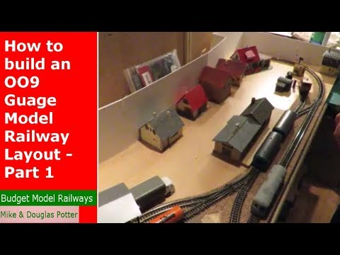 How to build an OO9 / HoE Gauge Model Railway Layout – Part 1