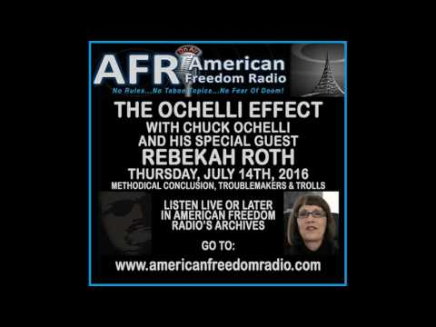 Rebekah Roth: Methodical Conclusion, Trolls, Troublemakers & Losers On The Ochelli Effect