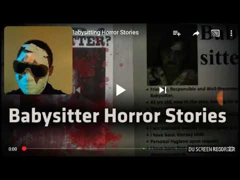 💲💸Hopkins new Nation 💸💲: Reaction to Mr nightmare babysitter Horror stories