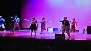"Jennifer Smith and Company of Godspell performing ""Bless the Lord"""