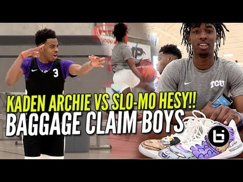 KADEN ARCHIE VS SLO-MO HESY!!!Ballislife Highlights John Lee Foundation