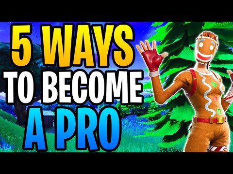 Try These 5 Ways To Become A Pro On Fortnite! (Advanced Tips)