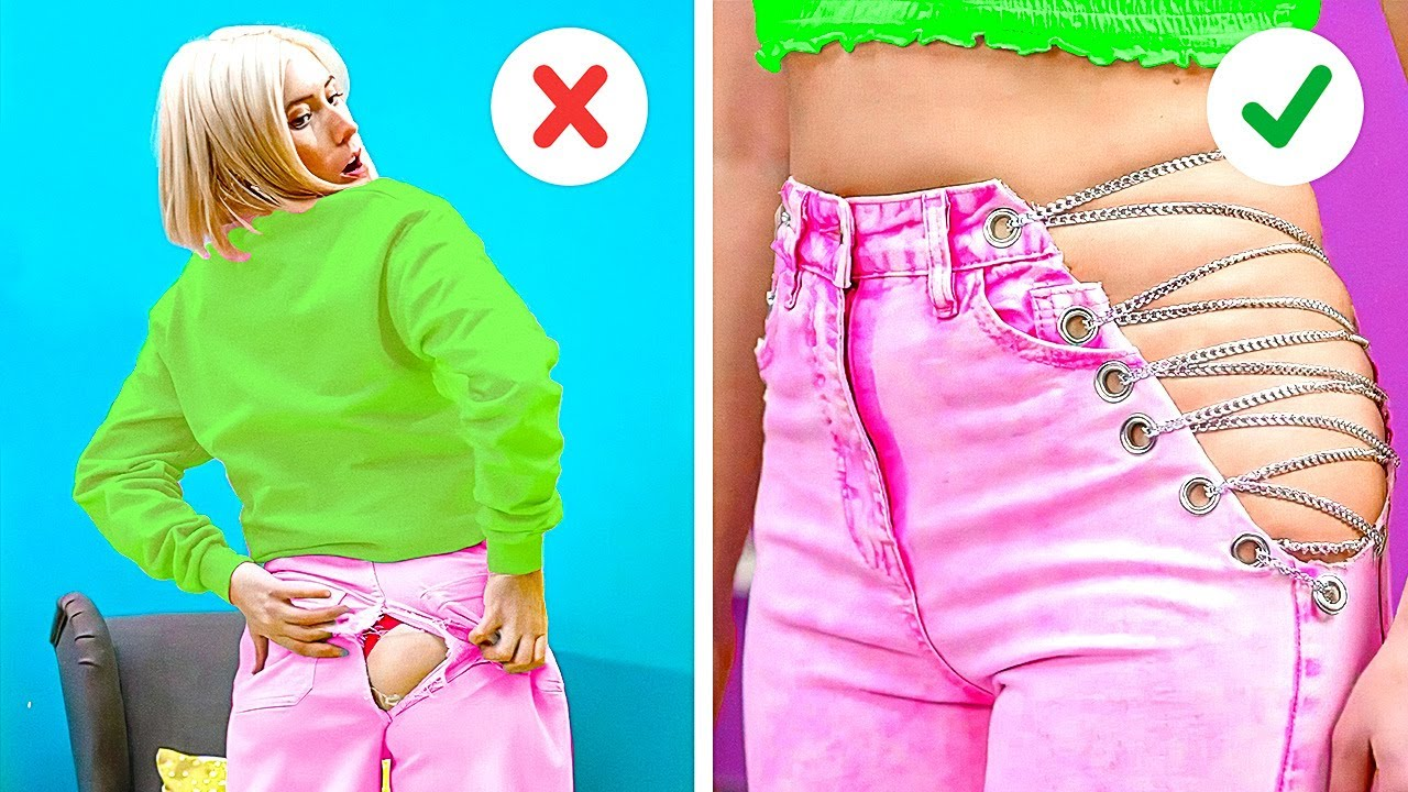 Download 33 HOT CLOTHING IDEAS: Upgrade Your Clothes in a Few Seconds!