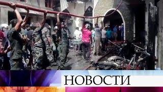 Почти 200 человек погибли в результате целой серии террористических атак на Шри-Ланке.