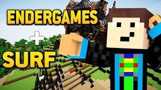 Gommes HAARE fackelten ab? - Minecraft ENDERGAMES / SURF #19   GommeHD