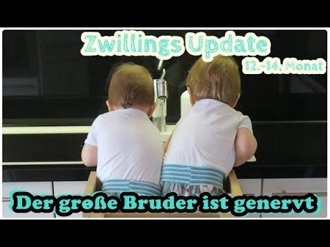Zwillings Update/durchschlafen/Essen/Eifersucht/12.-14.Monat/Mel´s Kanal