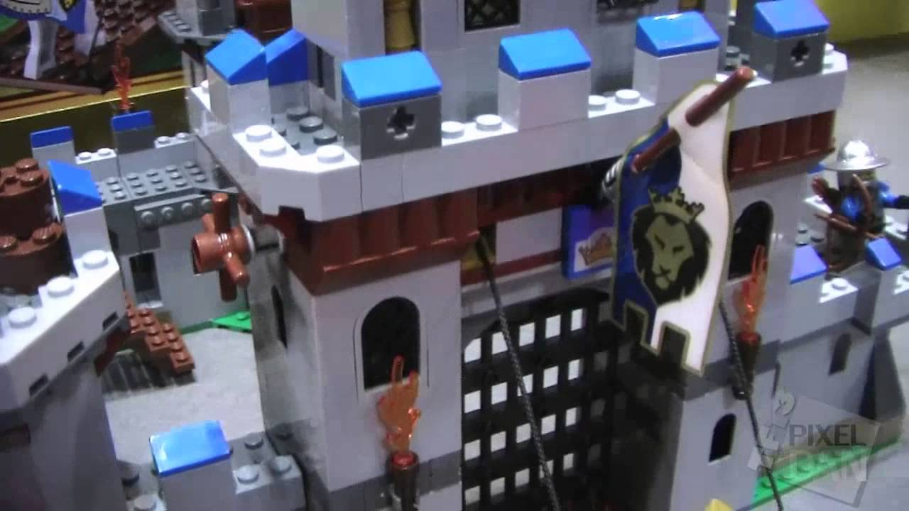 Toy Fair 2013 Lego Castle Line Showroom Video Footage Youtube