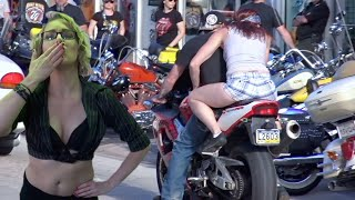 Crazy Moto Moments | Super Cool Motorcycles at Daytona Bike Week
