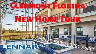 Clermont Florida New Home For Sale | Residence 3 Model by Lennar Homes at Hidden Lake | $352K*