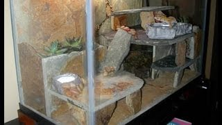 Creating 75 Gallon Reptile Tank Out Of Fish Tank!