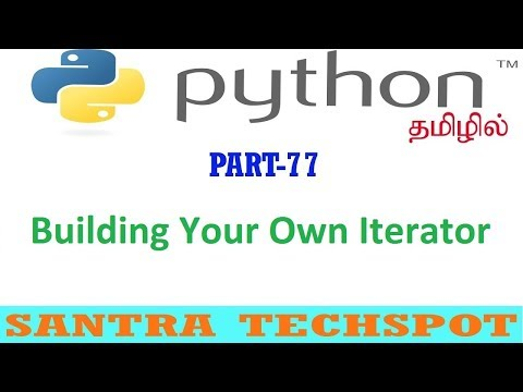 #77 | Building Your Own Iterator in Python | Python Tutorial in Tamil thumbnail