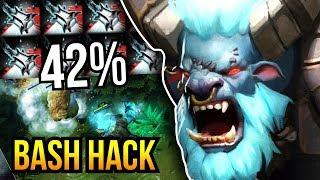 BASH HACK - IMBA 42% Bash Chance Madness + Echo Sabre Spirit Breaker by Kingrd 7.07 | Dota 2