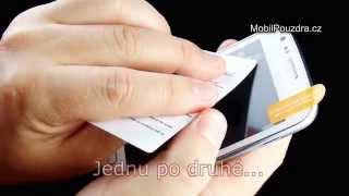 Návod jak nalepit fólii na displej mobilního telefonu - MobilPouzdra.cz