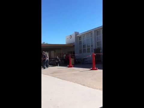 Kid dancing Murray middle school by Kalie